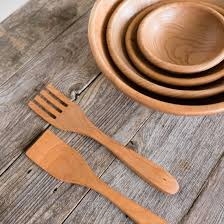 artisan crafted cherry wood salad bowls by rockledge farm