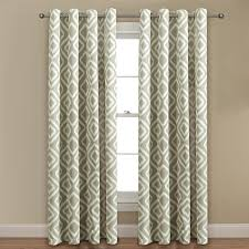 Jcpenney Living Room Curtains Amazon Com Printed Blackout Room Darkening Ikat Fret Printed