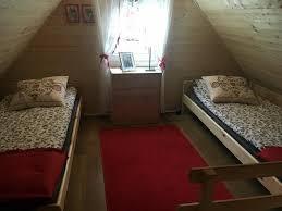 Schlafzimmerm El Aus Polen Lodge Drewniany Domek Polen Dominikowo Booking Com