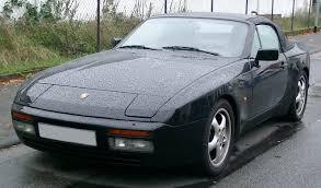 porsche 944 black file porsche 944 cabrio front 20070928 jpg wikimedia commons