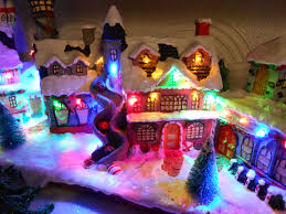 mini lights for christmas village file miniature christmas village birkenhead 2 jpg wikimedia commons
