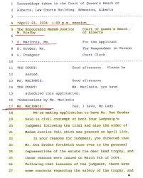 honourable rob nicholson u2013 federal attorney general of canada