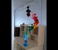 how to make a colorful wind chime diy home decoration ideas