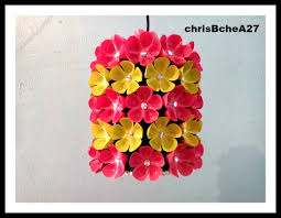 Diy Bottle Chandelier Diy 38 Chandelier Made Of Recycled Plastic Bottles Youtube