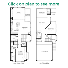 Bi Level Floor Plans With Attached Garage by Manor Plan Chesmar Homes Houston