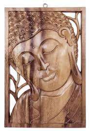 zen home decor ideas buddha decor and art novica buddha portrait balinese relief panel young buddha hand carved wood wall art novica