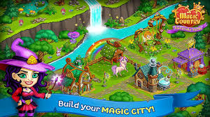 download game farm village mod apk revdl magic country fairy city farm android gameplay youtube
