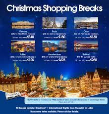 premier travel christmas shopping breaks