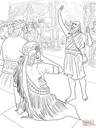 jonah in nineveh coloring page free printable coloring pages