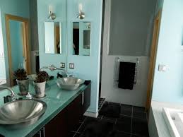 turquoise and brown bathroom bathroom decor