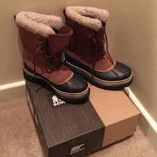 s sorel caribou boots size 9 40 sorel shoes sorel caribou boots in cinnamon size 9 from