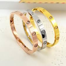 love bangle bracelet images Luxury classic design cross love bracelets bangles with jpg