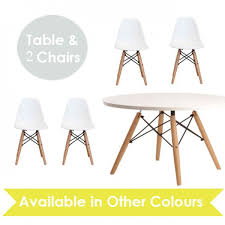 child kids eiffel inspired white table u0026 set of 2 color chairs