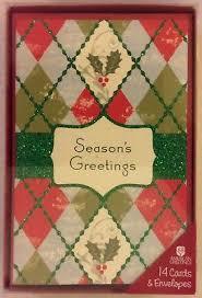 shih tzu dog box 14 christmas cards glitter american greetings