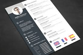 free professional resume template 2 professional creative resume templates photoshop free sumptuous