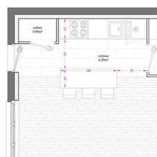 plan cuisine 11m2 plan üzerinde lavabo çizimi ölçüleri da ara teknik çizim