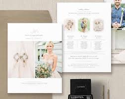 Wedding Magazine Template Photographer Pricing Guide Set Wedding Magazine Price List