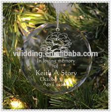 gem cut custom etching decorating clear glass ornaments buy