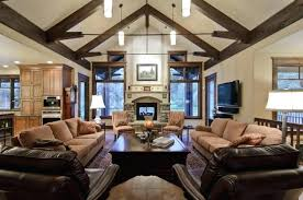 Cathedral Ceilings In Living Room Vaulted Ceiling Lighting Ideas Lighting Ideas For Living Room