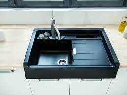 evier de cuisine noir cuisine artwood schmidt évier noir encastré dans plan de