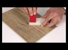Hardwood Floor Repair Kit Quickstep Repair Flooring Repair Kit Demonstration Youtube