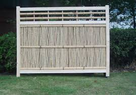 fence design awesome bamboo fencing diy rolled with internal