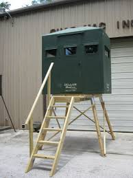Deer Hunting Tower Blinds Chas Mac Inc Hunting Towers For Deer Stands