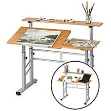 Split Level Drafting Table Martin Craftmaster 4 Creation Workstation Combo Table