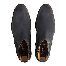 russell u0026 bromley ridgeway zip chelsea boot grey suede men