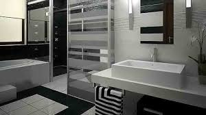 Eye Catching And Luxurious Black And White Bathrooms Home - Bathroom designs black and white