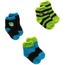 Toddler Wool Socks Teenage Mutant Ninja Turtles Baby Toddler Boy Quarter Softee Socks