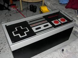 Nintendo Controller Coffee Table Out Of Boredom Comes Creativity