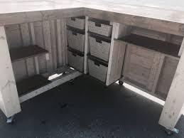Gray Reception Desk The Savita 7 U0027 X 6 Rustic Or Industrial Indoor Sales Counter