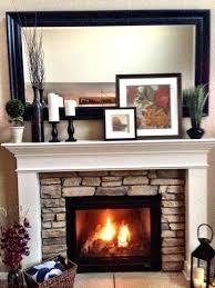 stone fireplace decor modern fireplace decor leonardpadilla com