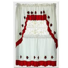 Christmas Kitchen Curtain by Christmas Kitchen Curtains Kenangorgun Com