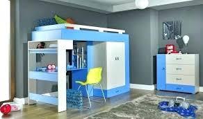 lit surélevé avec bureau lit mezzanine armoire lit bureau armoire combinac lit et bureau ado