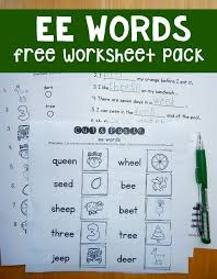 free ee worksheets phonics worksheets and activities