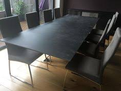 Extended Dining Table Cosmopolitan Extendable Dining Table In Ceramic Top With Matte