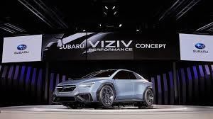 subaru concept 2017 subaru viziv performance concept could preview next gen wrx