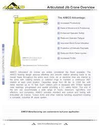 articulating jib aimco manufacturing