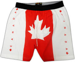 Canada Flag Colors Canadian Flag Boxer Shorts