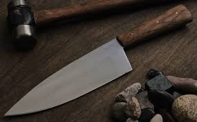 wood handle kitchen knives more chef knives and a serenity knives