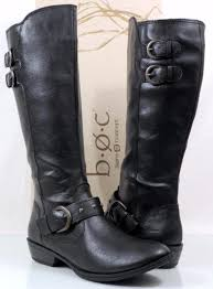 womens boots born s shoes b o c born concept hart boots black size