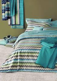 Missoni Duvet Cover Missoni Patrick Color 170 Aqua Zig Zag Striped Duvet Covers And Sheets