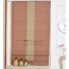 Pink Gingham Curtains Pink Gingham Linen Cotton Blend Shades Curtains