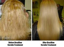 how to make hair soft keratin and haircut