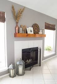 How To Build Fireplace Mantel Shelf - diy fireplace mantel with a driftwood finish designer trapped in