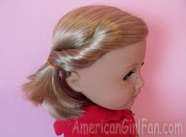 cute hairstyles for our generation dolls some fun and easy hairstyles for kit americangirlfan
