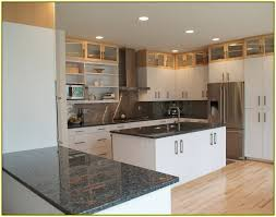 Pictures Of Kitchens With White Cabinets And Black Countertops White Kitchen Cabinets With Granite Counters Www