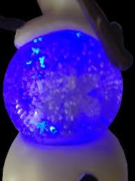 light up snow globe disney snow globe olaf with snowflake frozen light up